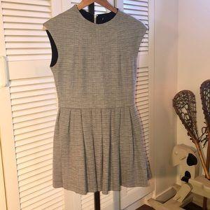 Short grey Talula Waldorf fit n flare dress